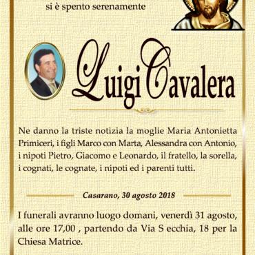 LUIGI CAVALERA – CASARANO