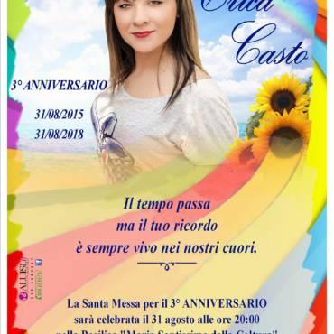 Anniversario Erica Casto – Parabita