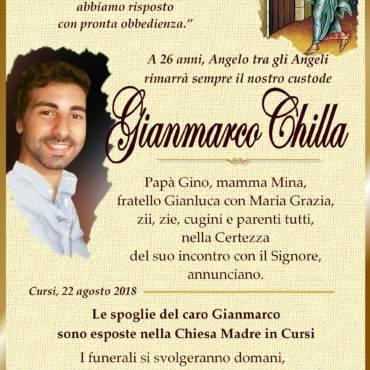 Gianmarco Chilla – Cursi