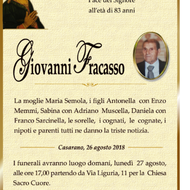 Giovanni Fracasso – Casarano