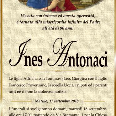 Ines Antonaci – Matino