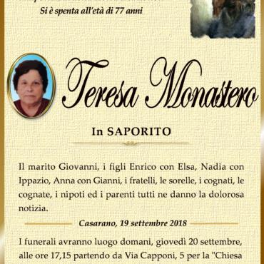 Teresa Monastero – in Saporito – Casarano
