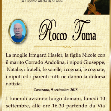 Rocco Toma – Casarano