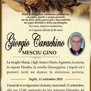 Giorgio Carachino – Tuglie