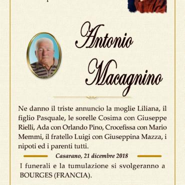Antonio Macagnino – Casarano