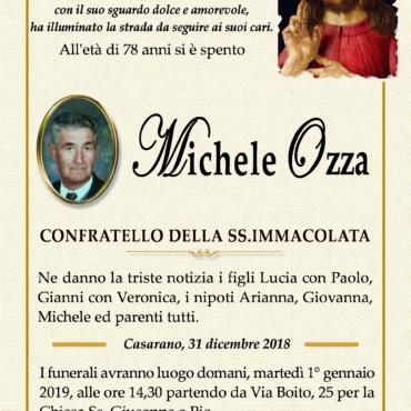 Michele Ozza – Confratello della Ss. Immacolata – Casarano