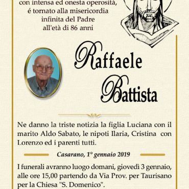 Raffaele Battista – Casarano