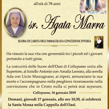 sr. Agata Marra – Collepasso