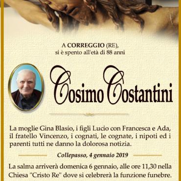 Cosimo Costantini – Collepasso