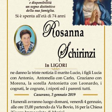 Rosanna Schirinzi – in Ligori – Casarano