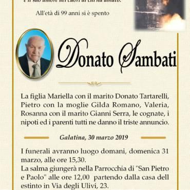 Donato Sambati – Galatina