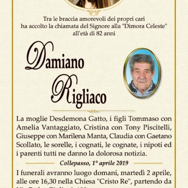 Damiano Rigliaco – Collepasso