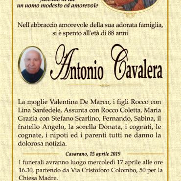Antonio Cavalera – Casarano