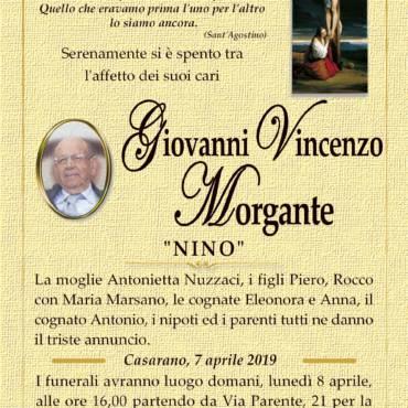 """Giovanni Vincenzo Morgante – """"Nino"""" – Casarano"""