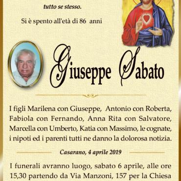 Giuseppe Sabato – Casarano