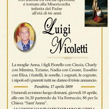 Luigi Nicoletti – Parabita