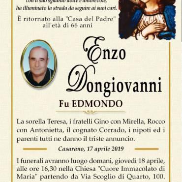 Enzo Dongiovanni – Fu Edmondo – Casarano