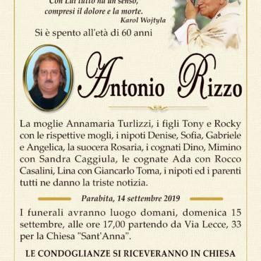 Antonio Rizzo – Parabita