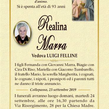 Realina Marra Vedova Luigi Felline – Collepasso