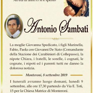 Antonio Sambati – Monteroni