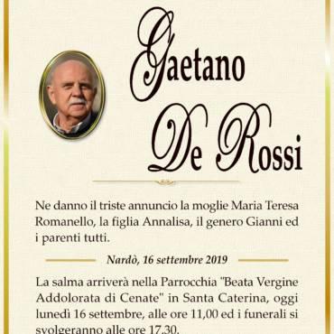 Gaetano De Rossi – Nardò
