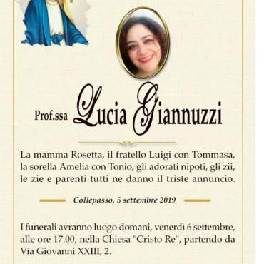 Prof.ssa Lucia Giannuzzo – Collepasso