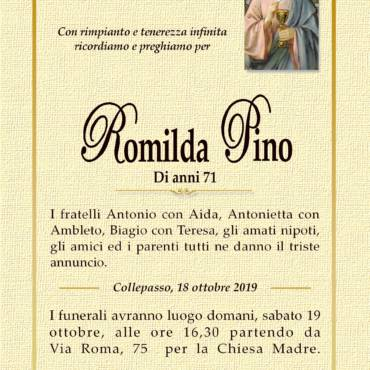 Romilda Pino – Collepasso