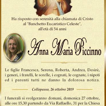 Anna Maria Piccinno – Collepasso