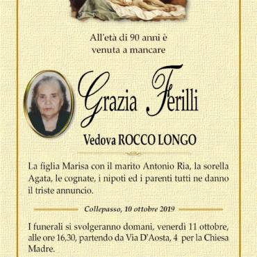 Grazia Ferilli – Vedova Rocco Longo – Collepasso