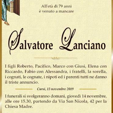 Salvatore Lanciano – Cursi