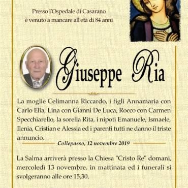 Giuseppe Ria – Collepasso