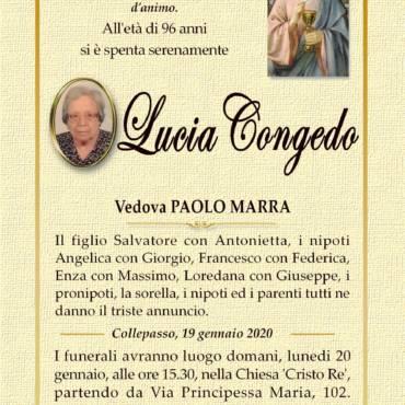 Lucia Congedo – vedova Paolo Marra – Collepasso
