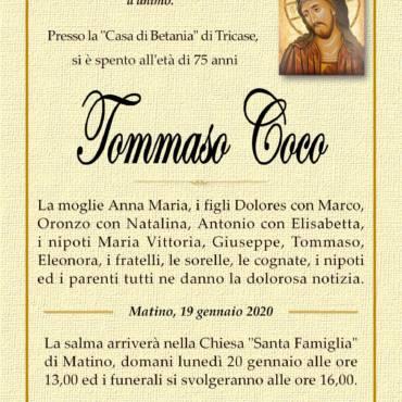 Tommaso Coco – Matino
