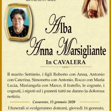 Anna Alba Marsigliante – In CAVALERA – Casarano