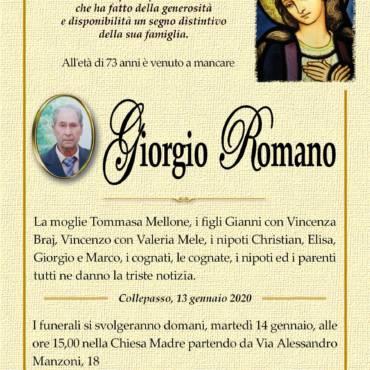 Giorgio Romano – Collepasso