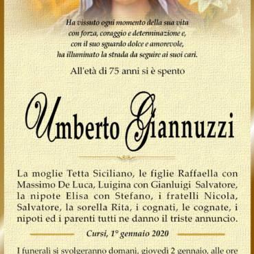Umberto Giannuzzi – Cursi