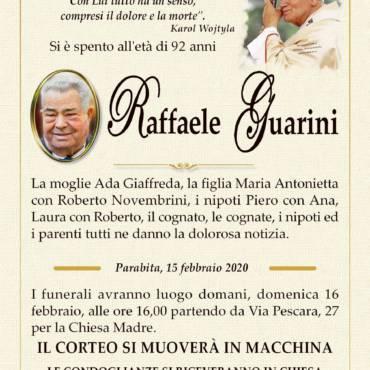 Raffaele Guarini – Parabita