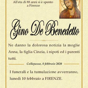 Gino De Benedetto – Firenze