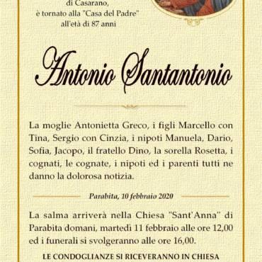 Antonio Santantonio – Parabita