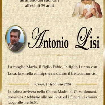 Antonio Lisi – Cursi