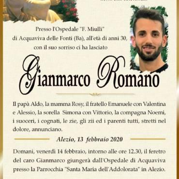 Gianmarco Romano – Alezio