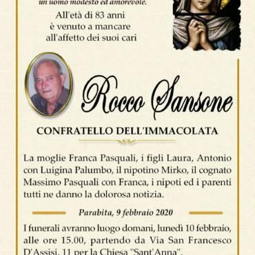 Rocco Sansone – Parabita