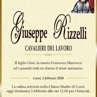 Giuseppe Rizzelli – Cursi