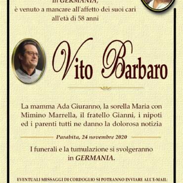 Vito Barbaro – Parabita