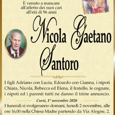 Nicola Gaetano Santoro – Cursi
