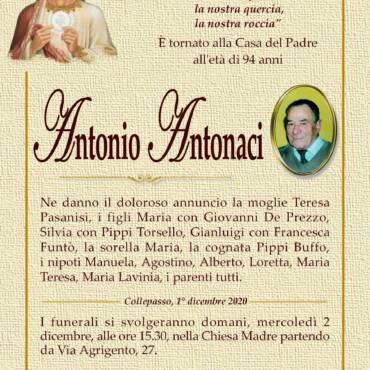 Antonio Antonaci – Collepasso