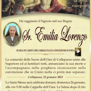 Suor Emilia Lorenzo – Collepasso