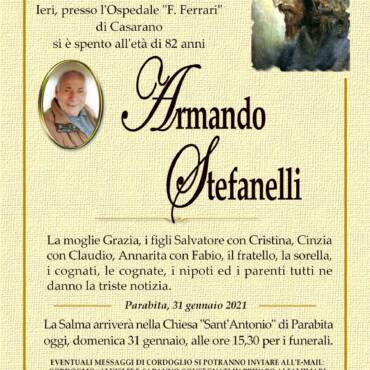 Armando Stefanelli – Parabita