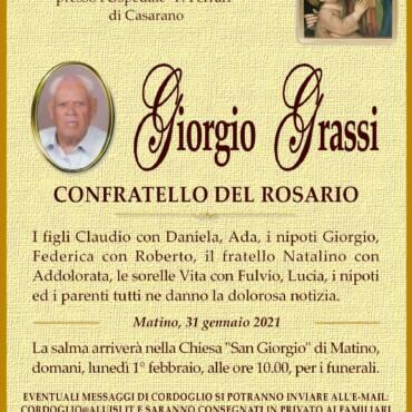 Giorgio Grassi – Matino