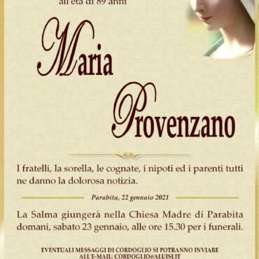 Maria Provenzano – Parabita